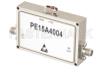 1 Watt P1dB, 6 GHz to 12 GHz, Medium Power Broadband Amplifier, 38 dB Gain, 39 dBm IP3, 5 dB NF, SMA -- PE15A4004 -- View Larger Image