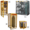 RELIUS SOLUTIONS Cylinder Storage Cabinets -- 7664002