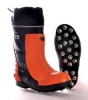 Chain Saw Boots,Steel Toe,Org/Blk,6,PR -- 12J180