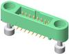 10+10 Pos. Male DIL Vertical SMT Conn. Screw-Lok Reverse Fix (T+R) -- G125-MS12005M3R -- View Larger Image