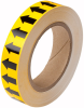 Brady B-946 Black on Yellow Directional Flow Arrow Tape - 1 in Width - 30 yd Length - 91424 -- 754476-91424 - Image