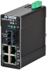 105FX Unmanaged Industrial POE Switch, SC 2km -- 105FX-SC-POE -Image
