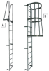 GILLIS Fixed Steel Access Ladders -- 3921202
