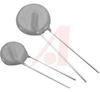 Varistor, Circuit Protection;130VAC, 170VDC;340V;10A;Metal Oxide;180pF -- 70184303 - Image