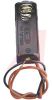 Battery Holder; AA; Polypropylene; 1; Spring; Wire Lead; 26 AWG -- 70182747 - Image