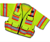 Class III Short Sleeve Surveyor Safety Vest