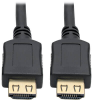 High-Speed HDMI Cable, 3 ft., with Gripping Connectors - 4K, M/M, Black -- P568-003-BK-GRP -- View Larger Image