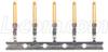 Crimp & Poke Male Pins - Gold Flash, Pkg/10 -- CPM10