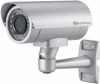 High Resolution IR Bullet Weatherproof Color Camera with 520 TVL, 9-22mm Lens, and 100' IR