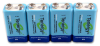 NiMH Rechargeable Batteries -- RB-9V-S250-SP04