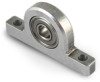 Pillow Blocks-Mounted Ball Bearings - Inch -- BBXBLK-PBSR188ZZ
