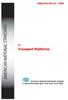 Transport Platforms - Electronic Copy -- ANSI/SIA A92.10-2009