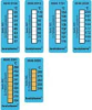 testoterm thermometer strips (10 off) +159.8 to +230 °F -- 0646 0916 - Image