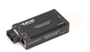 Industrial MultiPower Media Converter - 10-/100-Mbps Copper to 100-Mbps Fiber for Duplex Fiber, Single-Mode 1310-nm, 30 km, SC -- LIC025A-R2