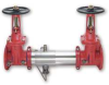 Backflow Preventer,2 1/2 In,Cast Iron -- 1RCX3 - Image