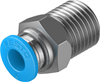 QS-1/4-6 Push-in fitting -- 153003