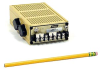 Narrow Profile - Linear Power Supplies ±12v and ±15v, Dual Tracking Outputs
