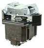 TP Series Rocker Switch, 4 pole, 3 position, Screw terminal, Flush Panel Mounting -- 4TP12-1 -Image
