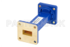 WR-62 Commercial Grade Straight Waveguide Section 3 Inch Length with UG-419/U Flange Operating from 12.4 GHz to 18 GHz -- PE-W62S001-3 -Image