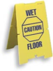 Corrugated Plastic Wet Floor Sign -- COM-2004