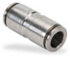 Push-to-Connect Air Fitting: straight, SS, for 3/8 inch tubing -- US38-SS