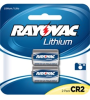 Photo Lithium Carded CR2 2-Pack, 3.0 Volt (6 packs/case) -- RLCR2-2A