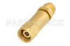 DC Block on Inner Conductor 2.4mm Male to 2.4mm Female Operating From 100 MHz to 50 GHz -- PE8237 -Image