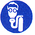 RTK Pictogram Labels (Self-Contained Air Respirator; 3/4
