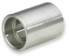 Coupling,2 In,304 Stainless Steel -- 1LUC4