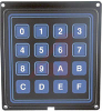 Keypad; 4 x 4 in.; Flange Mount; 3.000 + 0.015 in.; 24 VDC; 10 Ohms (Max.) -- 70216620