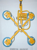 Air Powered Vertical Vacuum Lifter -- A100M4-48XV -- View Larger Image