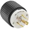 20A Electrical Plug: locking, 120/250 VAC, NEMA L21-20 -- 72120NP - Image