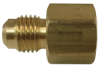 Brass Flare to Female Pipe Coupling -- No. 46