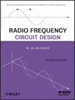 Radio Frequency Circuit Design -- 9780470768020