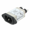 Power Entry Connectors - Inlets, Outlets, Modules -- 10EH4C-ND - Image