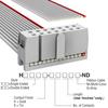 Rectangular Cable Assemblies -- H1CXS-1436G-ND -Image