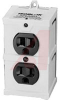 Surge Suppressor, 2 Outlets, Direct Plug In 600 Joules, Diagnostic LED,IBar Ultr -- 70101442