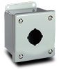 4 x 3 x 3 inch (HxWxD) NEMA 12 Pushbutton Enclosure, 304 ... -- PBSS1