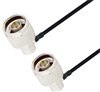 N Male Right Angle to N Male Right Angle Cable Assembly using LC085TBJ Coax, 6 FT -- LCCA30139-FT6 -- View Larger Image