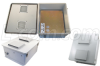 18x16x8 Inch Universal 100-250 VAC Weatherproof Enclosure with Vented Cover -- NB181608-E0V