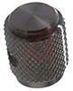 Knob, Diamond Knurl,Side, Black -- 70156322
