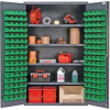 """Heavy-Duty All-Welded Storage Cabinets - 48"""" Wide - QSC-4803 - Image"""