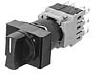 Selector Switch With Knob, Rectangular Bezel -- AH164-P