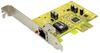 Gigabit Ethernet 10/100/1000 PCI Express (x1) Card -- 1024-SF-04