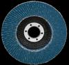 3M 566A Type 27 Coated Alumina Zirconia Flap Disc - 60 Grit - 7 in Diameter - 55387 -- 051141-55387