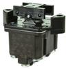TP Series Rocker Switch, 4 pole, 3 position, Screw terminal, Flush Panel Mounting -- 4TP8-12 -Image