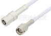 SMA Male to SMB Plug Cable 6 Inch Length Using RG188-DS Coax, RoHS -- PE3722LF-6 -Image