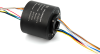 Through bore Slip Ring to Transmit Power and Data Signals -- LPT025
