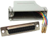 DB25 Female to RJ12 Modular Adapter -- 31D3-A2 -- View Larger Image