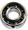 Miniature Inch Series - Radial, Open, Flanged